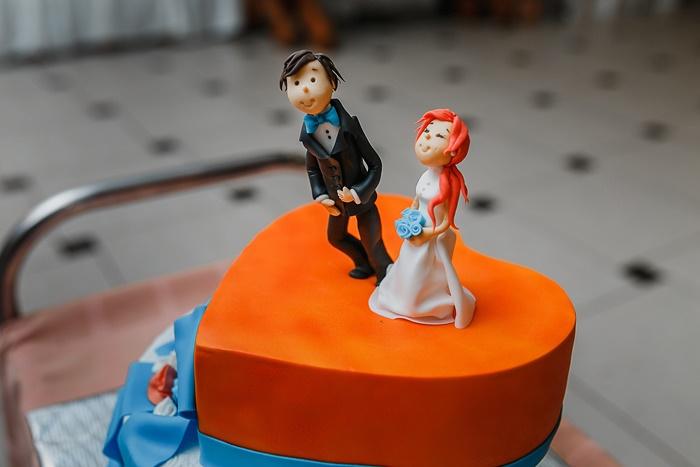 Individualisierte Figuren auf der Hochzeitstorte #2